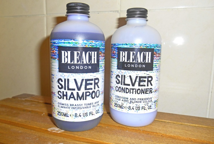 bleach silver shampoo and conditioner review